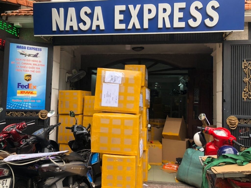 Công ty vận chuyển hàng đi Nhật Bản (Japan) tại TPHCM Nasa Express