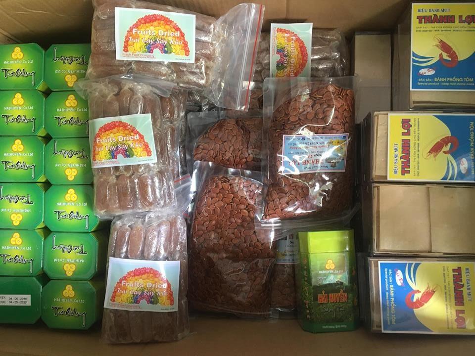 Gửi thực phẩm đi Úc (Australia)