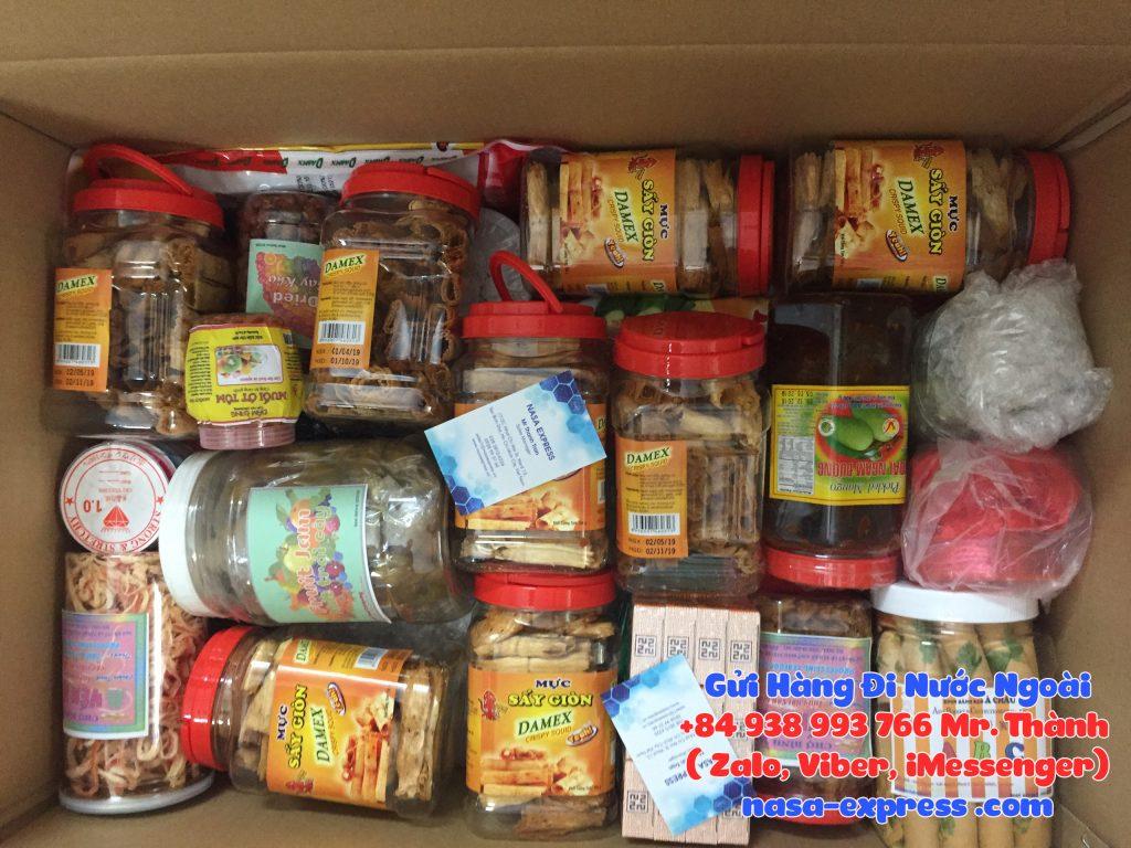 Gửi thực phẩm đi Hà Lan (Netherlands)