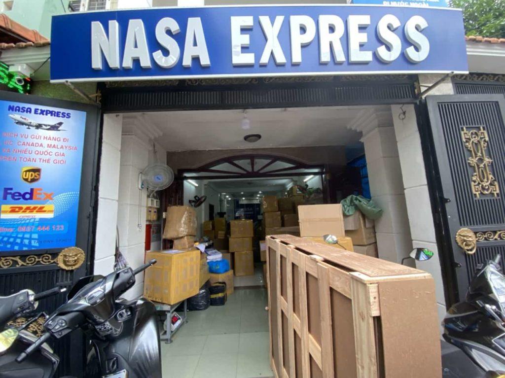 Công ty gửi hàng đi Canada Nasa Express